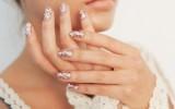 gold glitter wedding nails bmodish