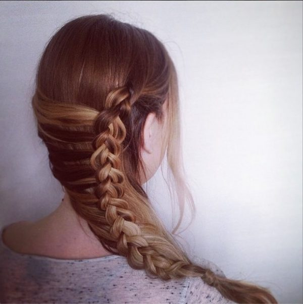 half mermaid braid bmodish