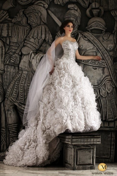 hassan mazeh wedding dress 19 bmodish