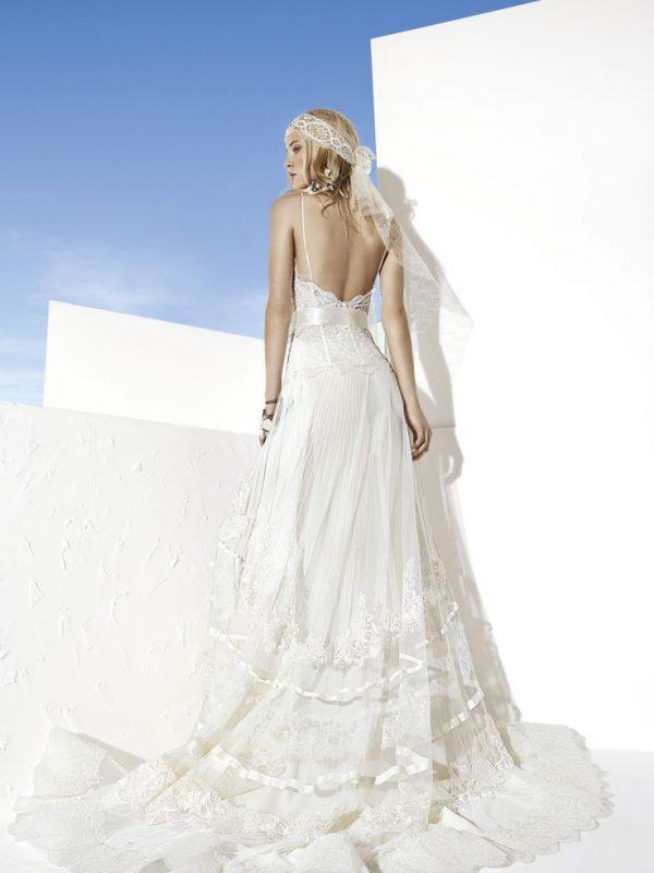 manises yolan cris boho lace wedding dress bmodish