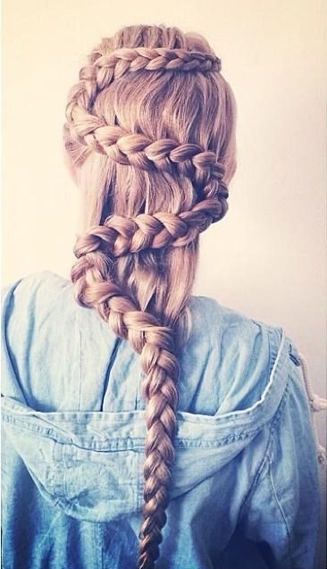 pretty snake braid bmodish