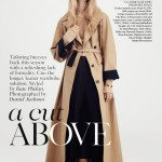 sasha pivovarova for vogue 2014