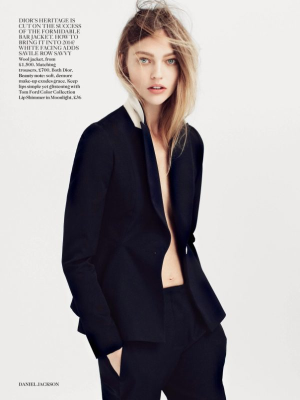 sasha pivovarova for vogue 2014 4