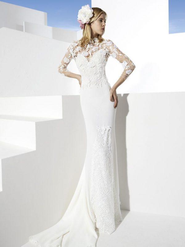 yolan cris wedding dress cambre bmodish