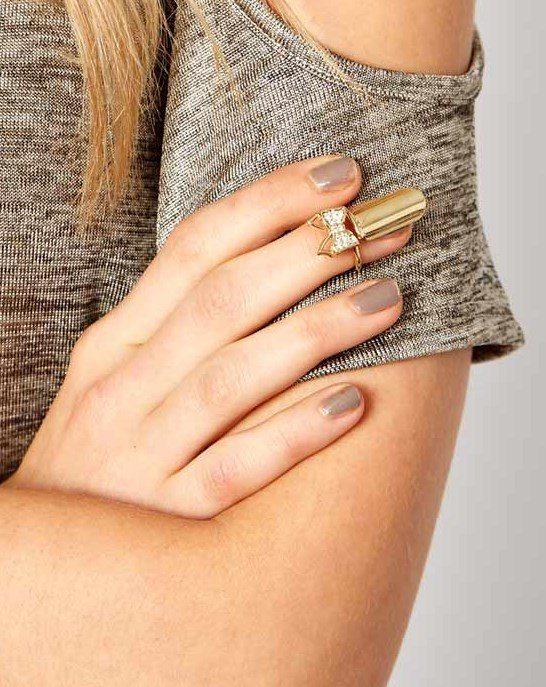 asos nail knuckle ring bmodish