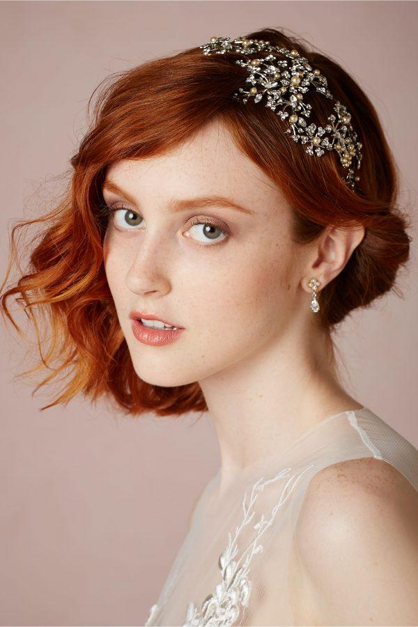 asymmetrical short hair for wedding bmodish