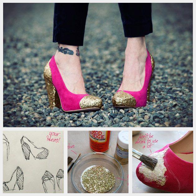glitter heels bmodish