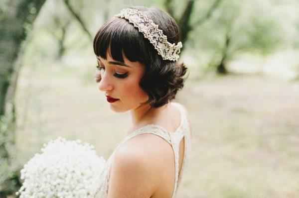 great gatsby short wedding hair bmodish