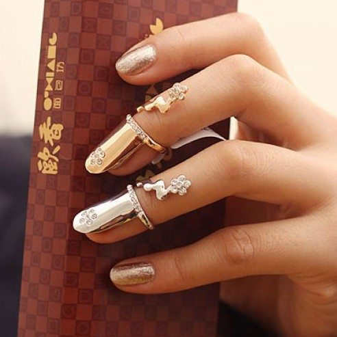 knuckle ring for nail bmodish