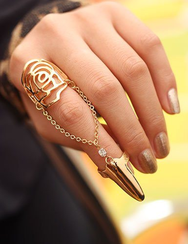 nail knuckle ring bmodish