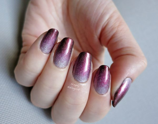 simple gradient nails bmodish