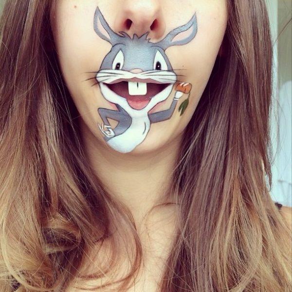 big bunny makeup laura jenkinson bmodish