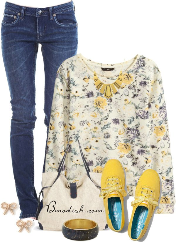 casual sweatshirt school outfit bmodish