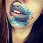 cute elephant makeup art bmodish