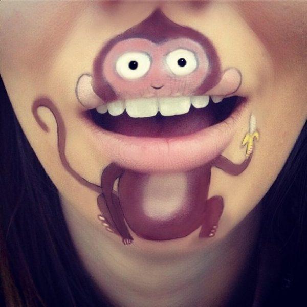 cute monkey makeup bmodish