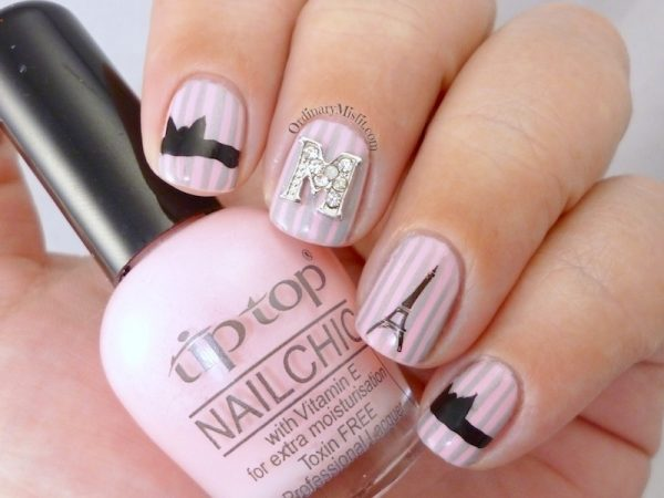 french affair i love paris nail art bmodish