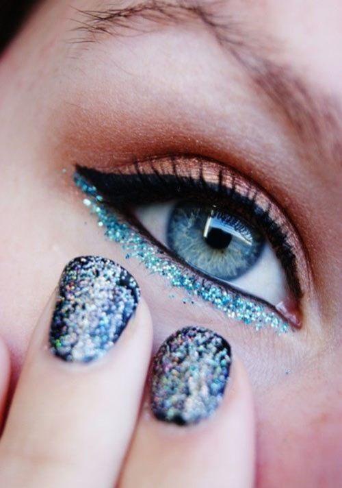 glitter underline bmodish
