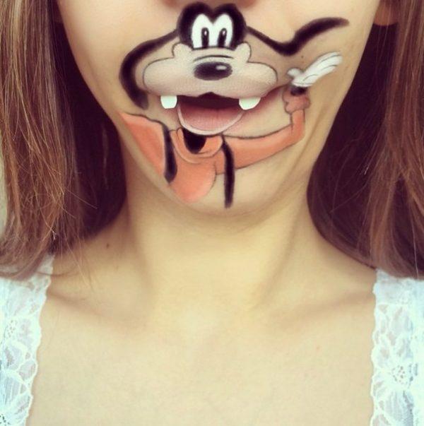 goofy makeup bmodish