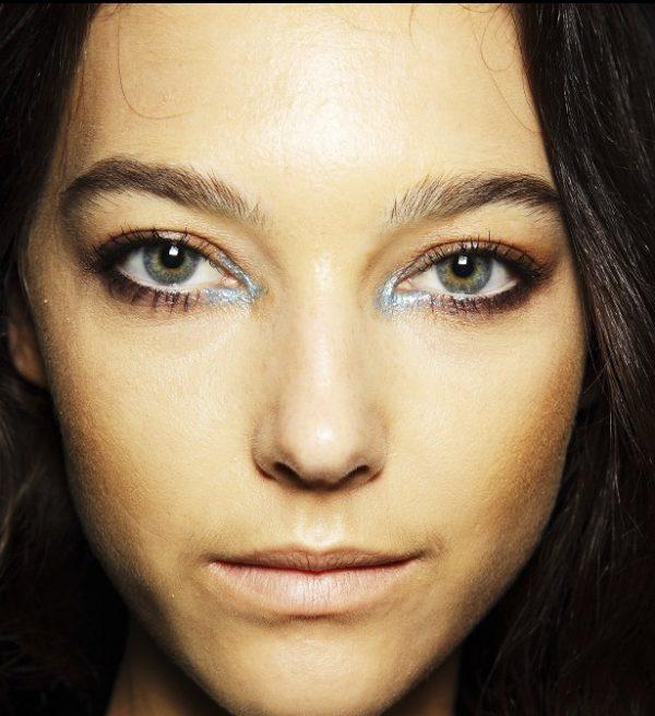 grunge glitter makeup bmodish