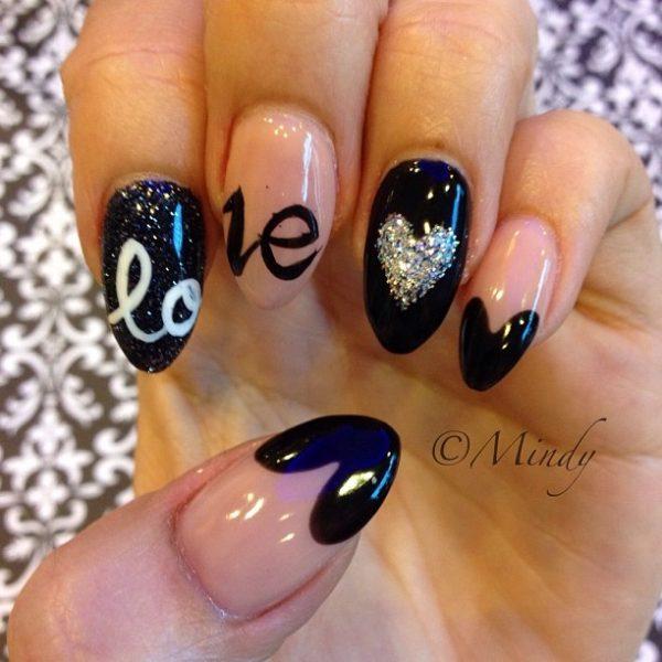 love almond shaped nails bmodish