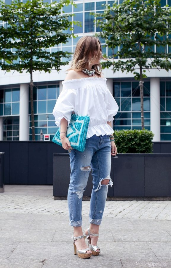 blouse with jeans bmodish