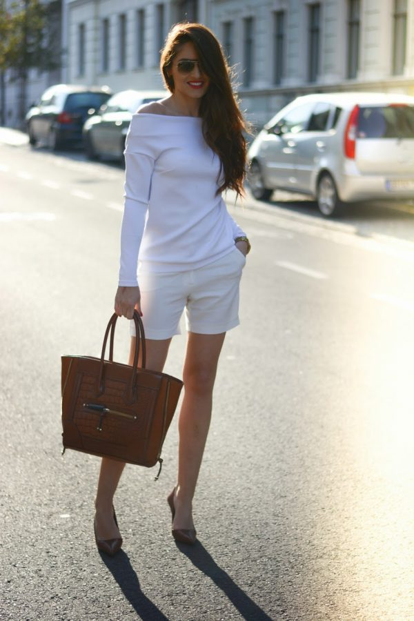white long sleeve shirt bmodish
