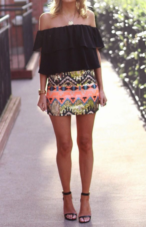 tribal skirt bmodish