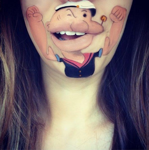popeye makeup laura jenkinson bmodish
