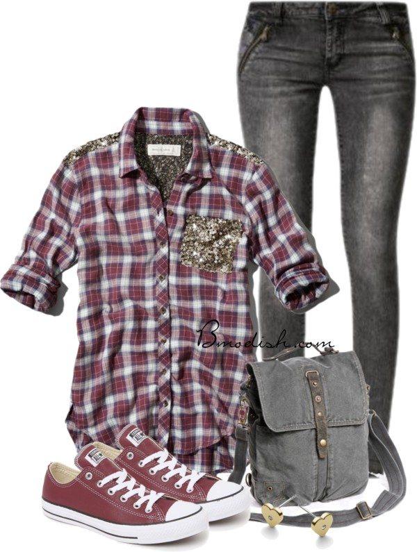 sequin shirt school outfits bmodish