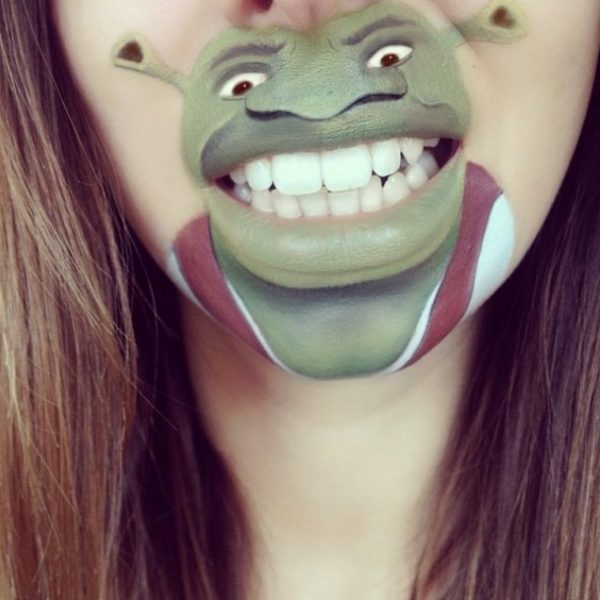 shrek makeup laura jenkinson bmodish