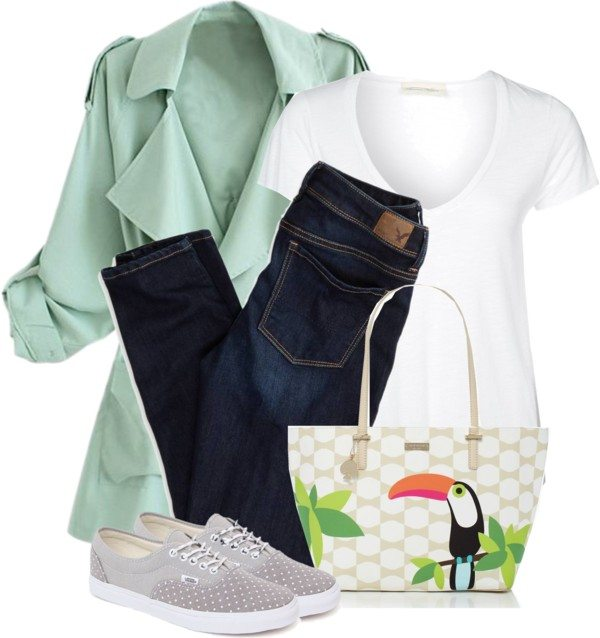simple casual school outfit bmodish
