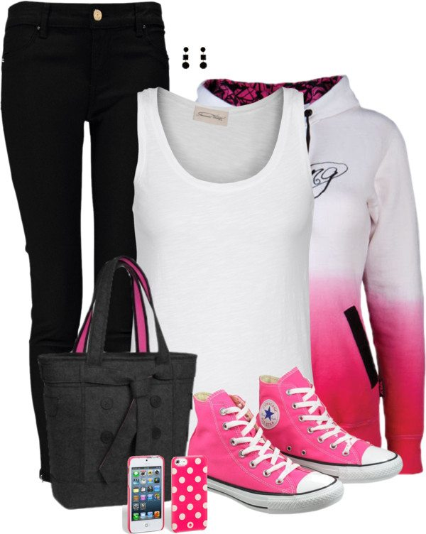 simple school outfit bmodish