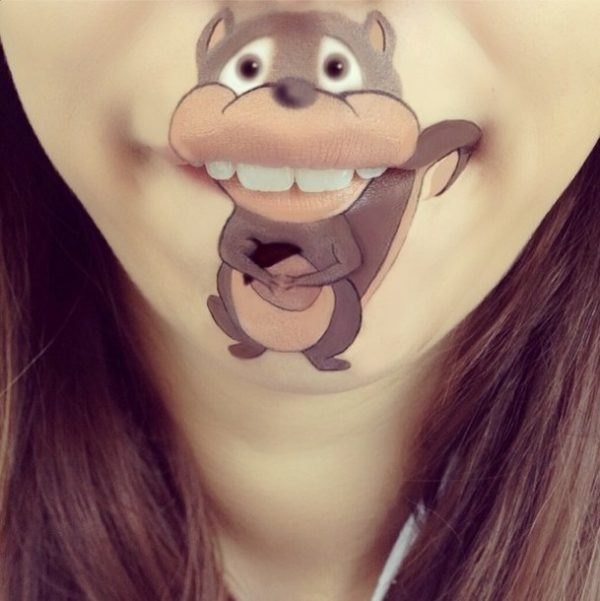 squirrel makeup bmodish