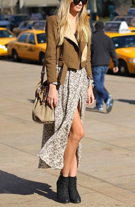 street style with ankle boots bmodish