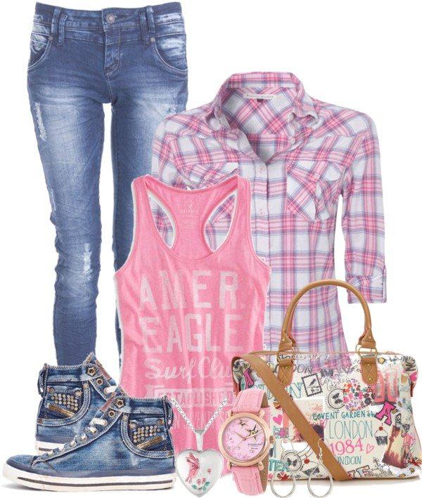 teen school outfit idea bmodish