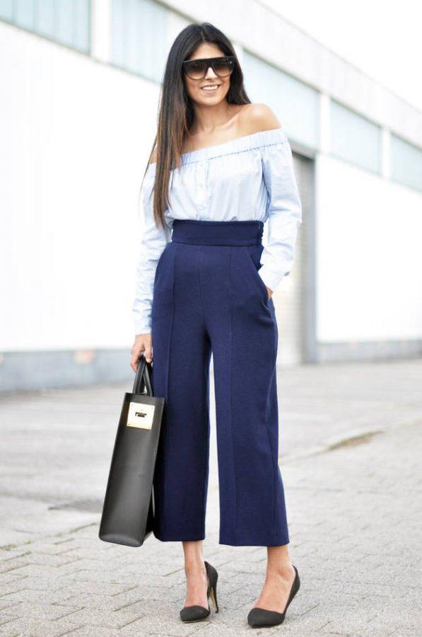 zara wide leg trouser bmodish