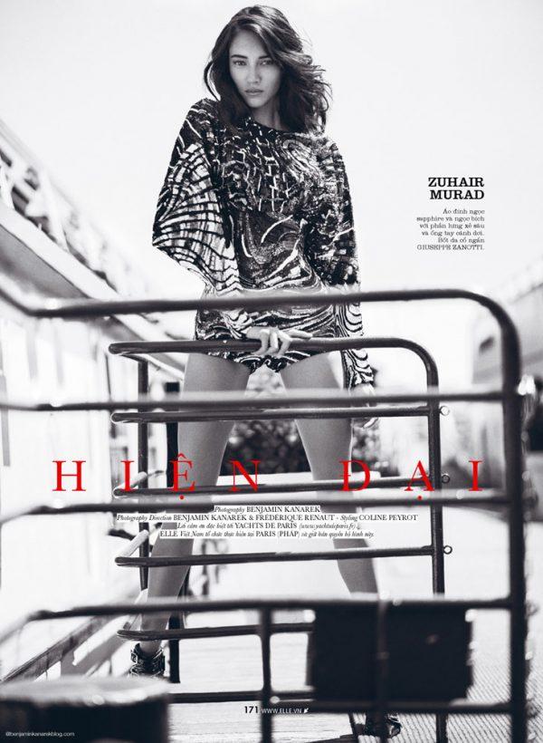 Daniela De Jesus Cosio for Elle Vietnam 2 modern couture bmodish