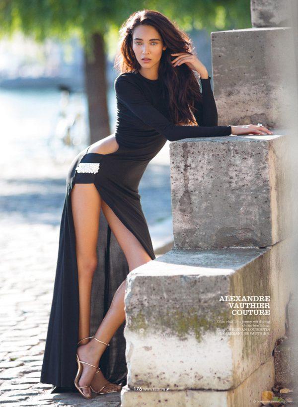 Daniela De Jesus Cosio for Elle Vietnam 8 modern couture bmodish