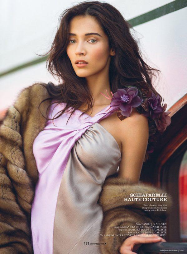 Daniela De Jesus Cosio for Elle Vietnam 9 bmodish