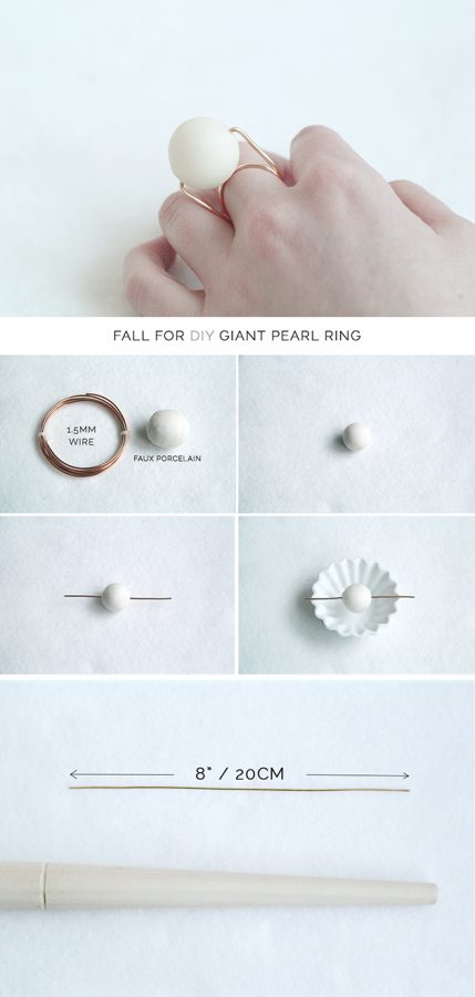 Giant-Pearl-Ring-DIY 1 bmodish