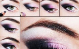 Purple-Dark-Eye-Shadow-Makeup-Tutorial bmodish