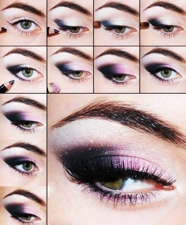 Purple-Dark-Eye-Shadow-Makeup-Tutorial bmodish