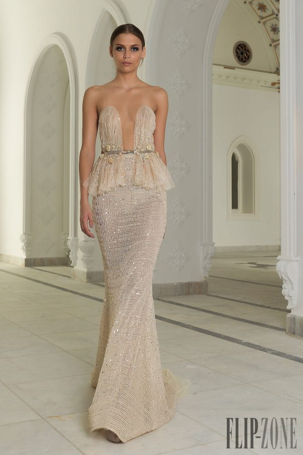 abed mahfouz couture fall winter 2014-2015 2 bmodish