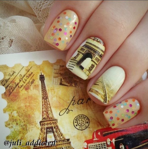 autumn in paris nails bmodish