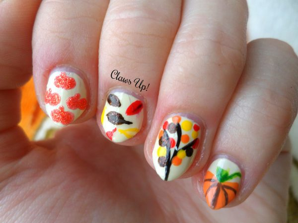 16 fall nail art designs youll fall in love with be modish beautiful fall nails idea bmodish prinsesfo Choice Image