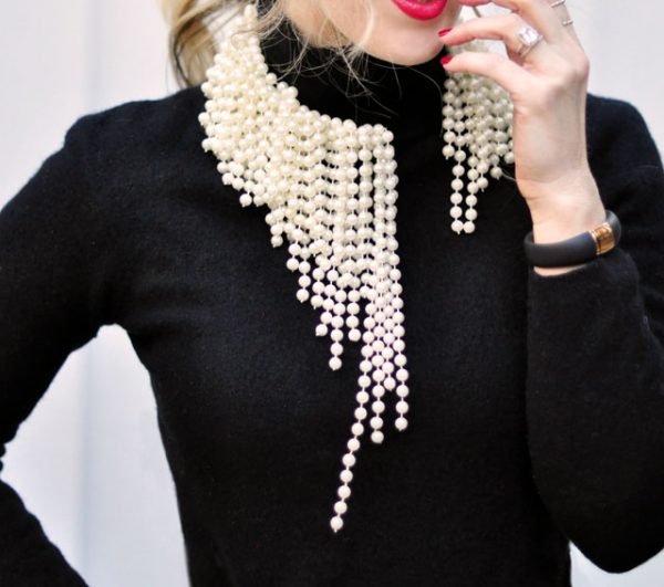 diy-asymmetrical-pearl-necklace-dior bmodish