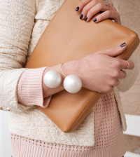 diy giant pearl bracelet bmodish