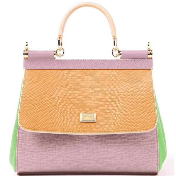 7e9360ae13 Pastel Shades Dolce Gabbana Sicily Handbag Colection - Be Modish