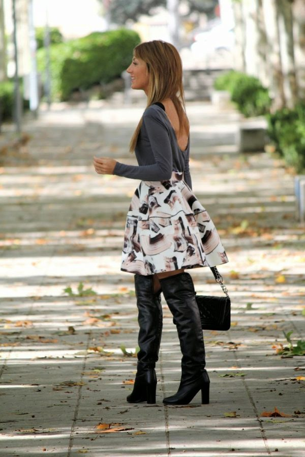 early fall over the knee boots bmodish