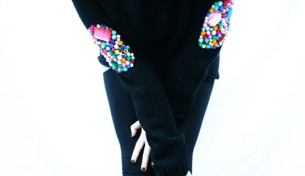 jeweled elbows-diy bmodish